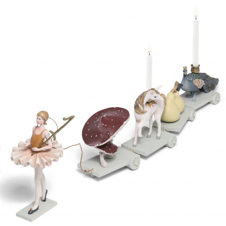 Fødselsdagstog, Ballerina fra Konges sløjd