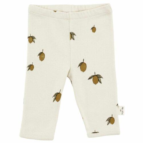 Bukser I økologisk bomuld, Lemon fra Konges Sløjd