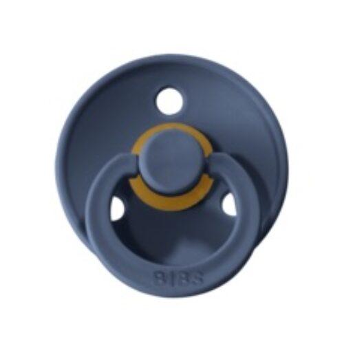 Bibs Colour Steel Blue, 6 latex sutter i str. 2