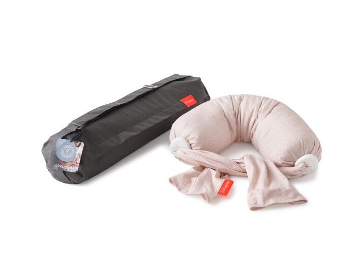 bbhugme ammepude pink melange med taske