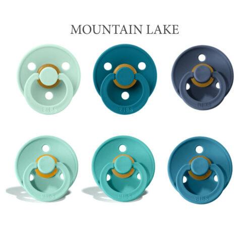 Bibs Colour 6 stk Mountain Lake NYE FARVER – latex sutter i str. 2