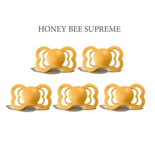 Bibs SUPREME Honey Bee 5 sutter i silikone st. 2