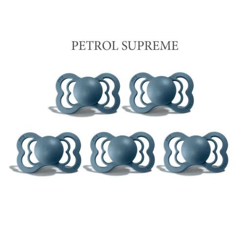 Bibs SUPREME Petrol 5 sutter i silikone st. 2